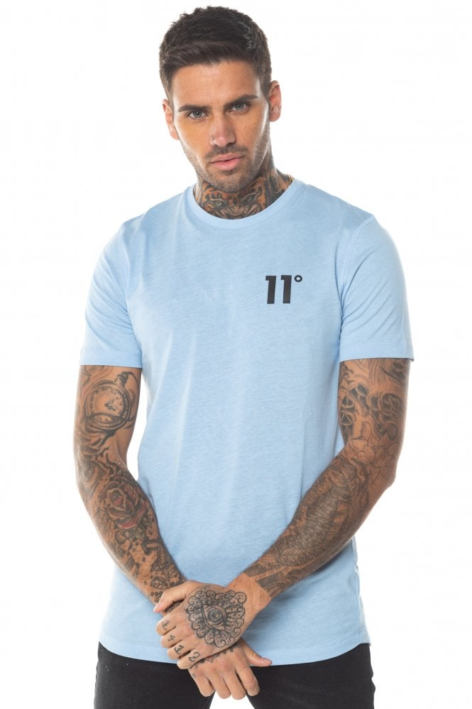 Core Tee Coast Blue by 11 Degrees