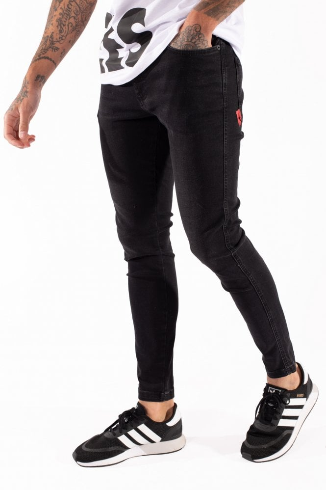 Essential Super Stretch Black Skinny Jean by 11 Degrees