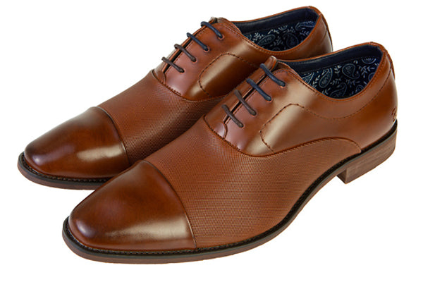 Benetti Gavin Tan Leather Shoe