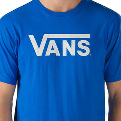 Classic Royal/White Tee by Vans