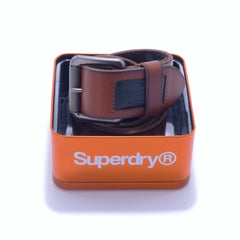 Badgeman Buffalo Tan Belt by Superdry