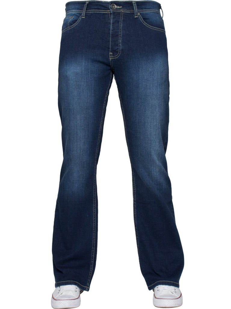 Flare Fit Mid Wash Jean EZ401