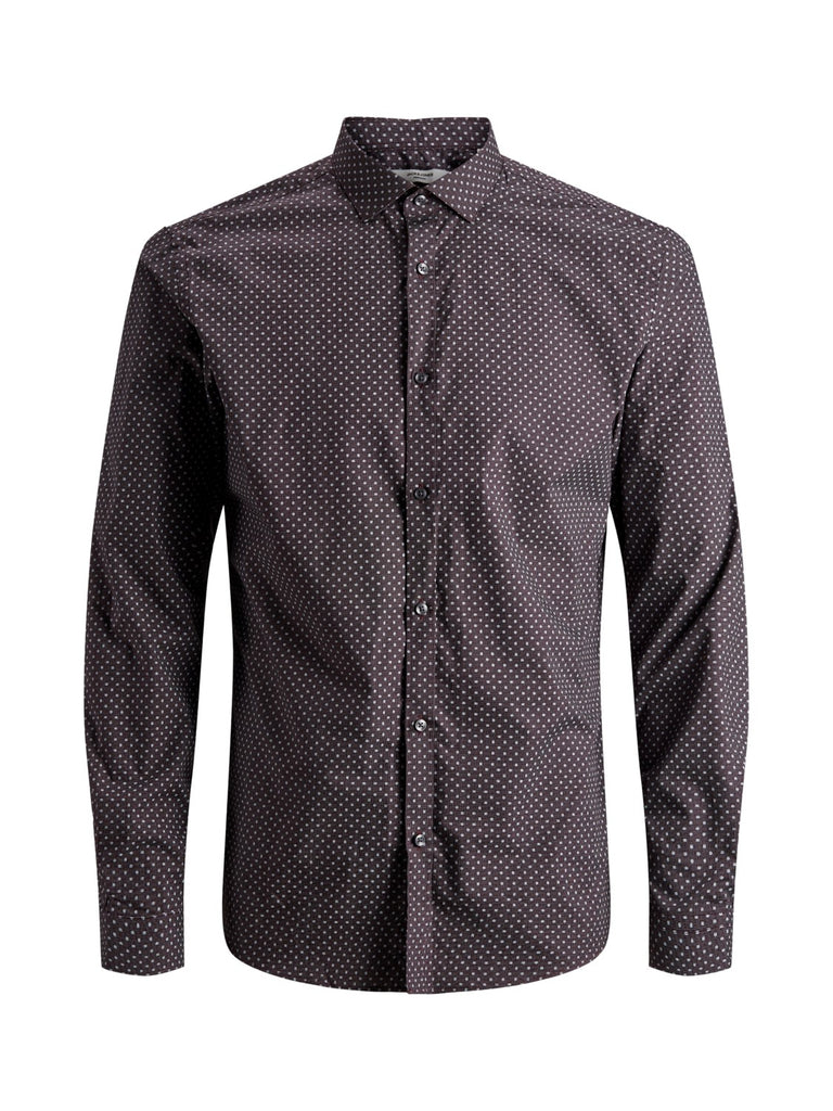 Blackpool All Over Print Long Sleeve Shirt Purple.
