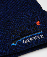 Orange Label Utah Royal Beanie by Superdry