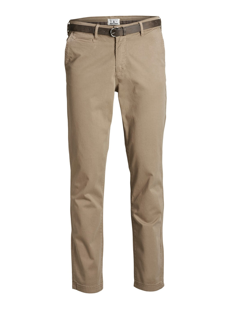 Roy James Beige Regular Chino