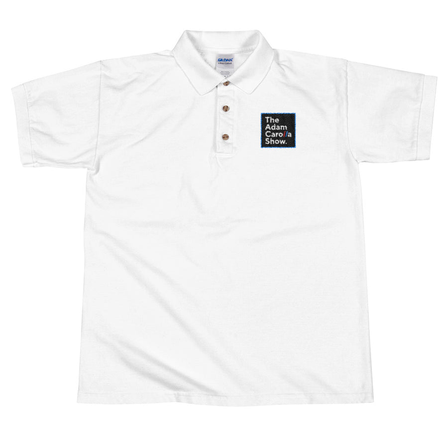Embroidered Polo Shirt, The Adam Carolla Show