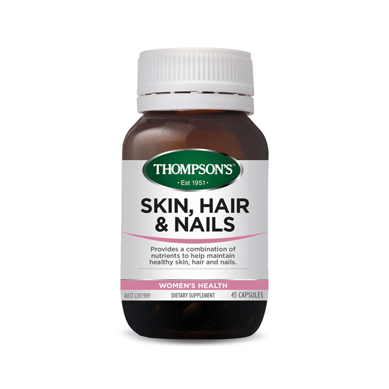 Thompson's Skin Hair and Nails 45s Twin Pk