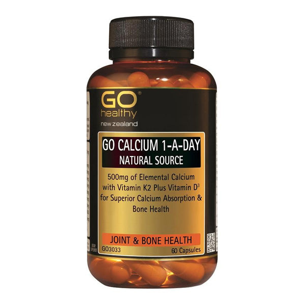 Go Calcium One-A-Day Natural Source
