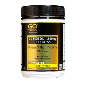 Go Fish Oil 1500mg Odourless