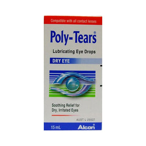 Poly-Tears Dry Eye Drops 15ml