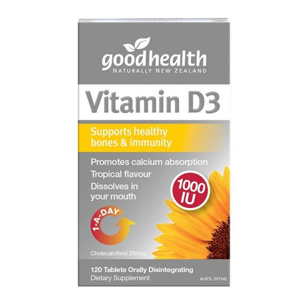 Good Health Vitamin D3 1000IU