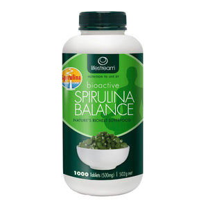 Lifestream Bioactive Spirulina Balance 500mg