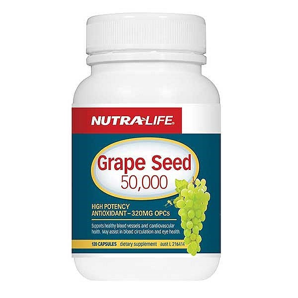 Nutra Life Grape Seed 50,000