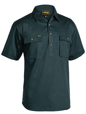 workwear-shirts-bsc1433-Bisley-closed-front