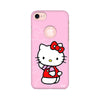 Feminine - Hello Kitty Printed Case For Apple iPhone 7 (Round Cut)