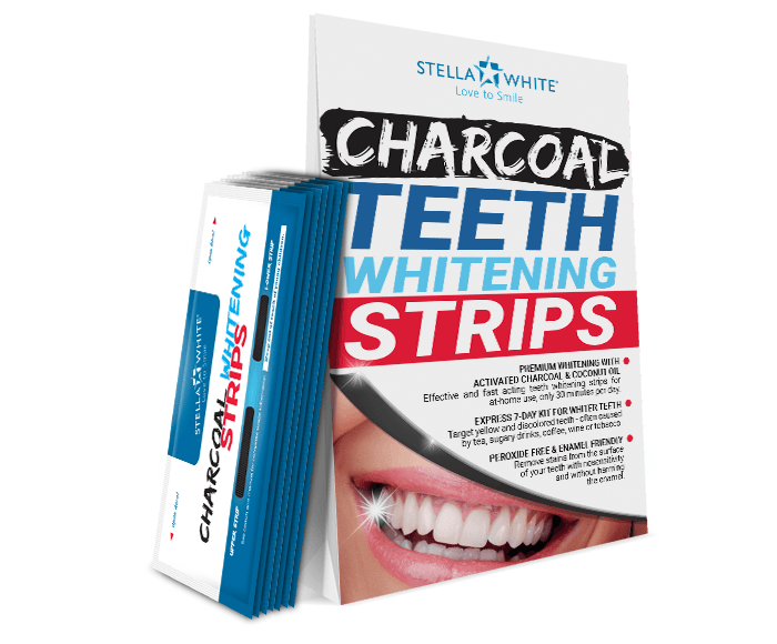 Charcoal Teeth Whitening Strips