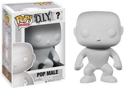 Funko POP! Vinyl Do It Yourself (D.I.Y) - Male