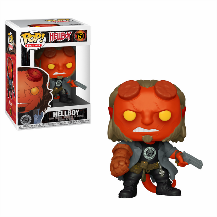 Funko POP! Movies: Hellboy with BPRD Tee