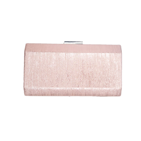 Carrie Pink Metallic Clutch - Styles of Soki