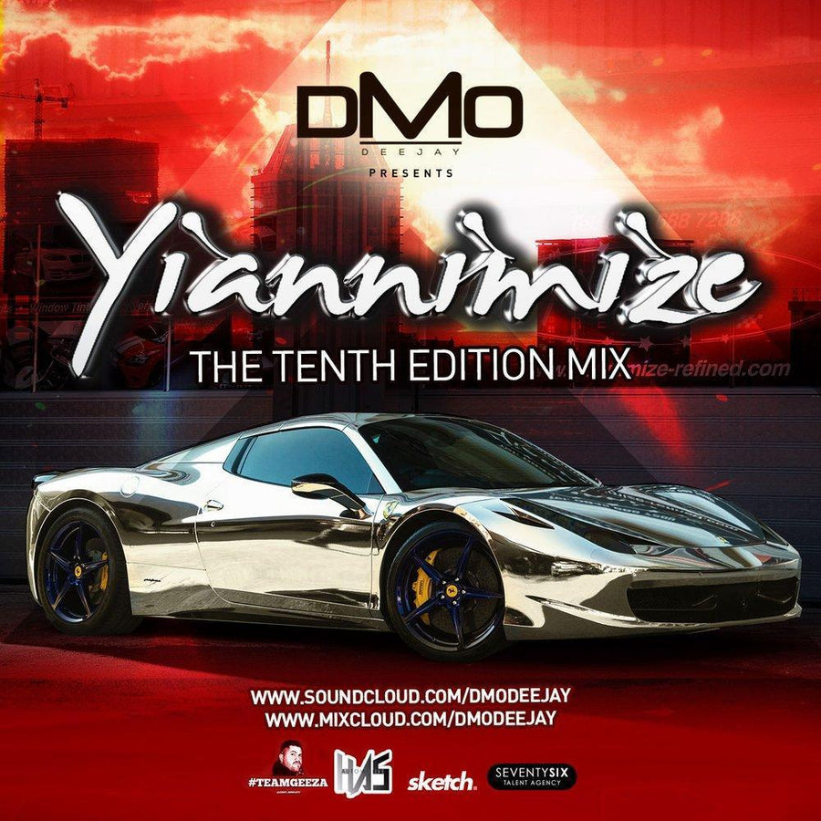 Yiannimize Mix 10 Tracked CD