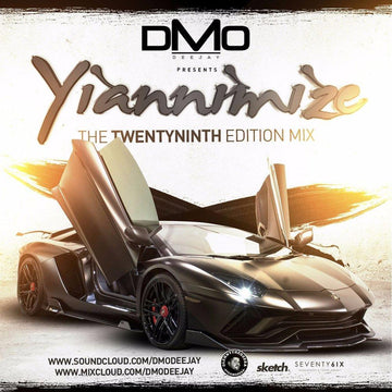 Yiannimize Mix 29 Tracked CD