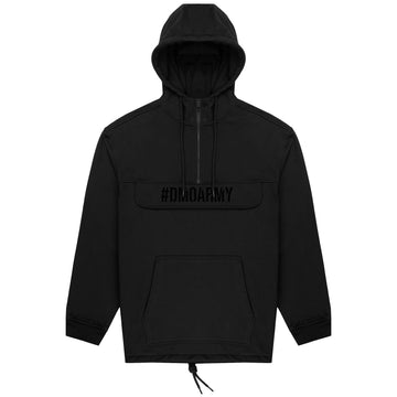 Pouch Hoodie - Black