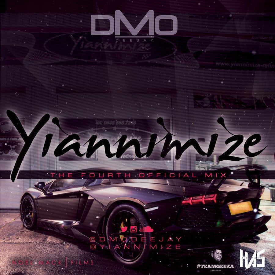 Yiannimize Mix 4 Tracked CD