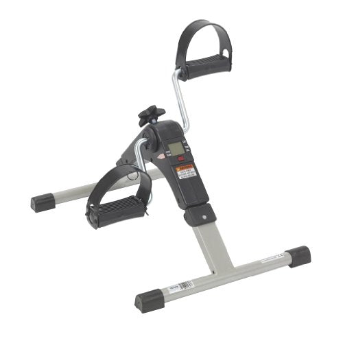 Deluxe Folding Exercise Peddler with Electronic Display - Exercise Earth
