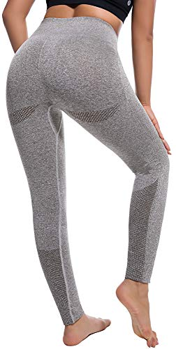 Seamless High Waisted Leggings - Exercise Earth