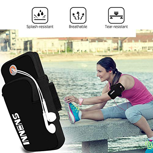 Universal Sports Fitness Armband with Earphone Jack - Exercise Earth