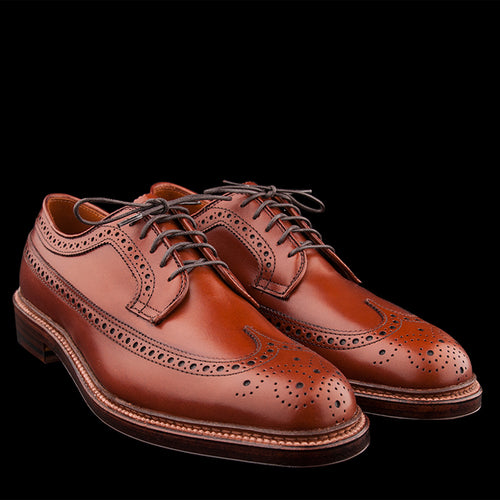 Long Wing Blucher in Burnished Tan 979