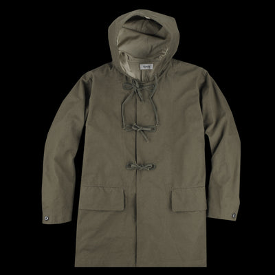 Chimala - Military Canvas Mountain Shell Parka in Olive Drab