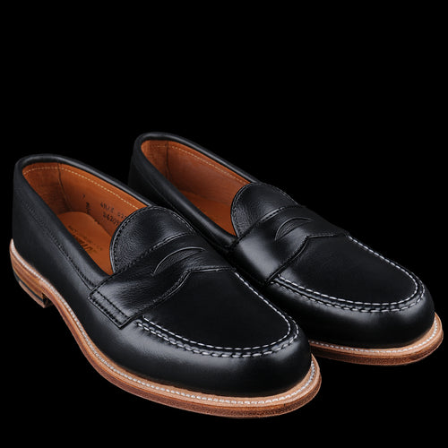 Brenham Leisure Loafer in Lady Calf Black D6209F