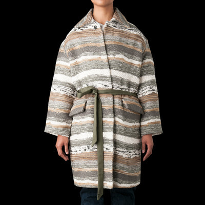 Monitaly - Jute Coat in Hand Crafter Cindy Soft Made
