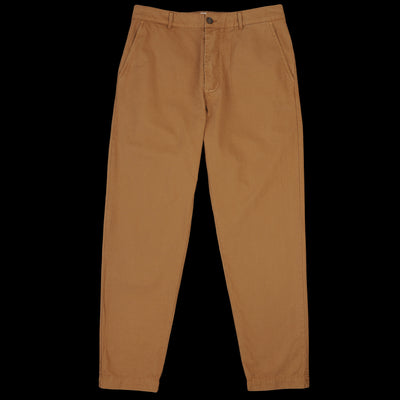 Universal Works - Military Chino in Khaki Texture Pinstripe