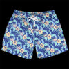 Far Afield - Printed Swimshort in Tropical Blue