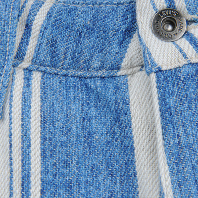 Levi's Made & Crafted - Draft Crop Carpenter in Linen Stripe