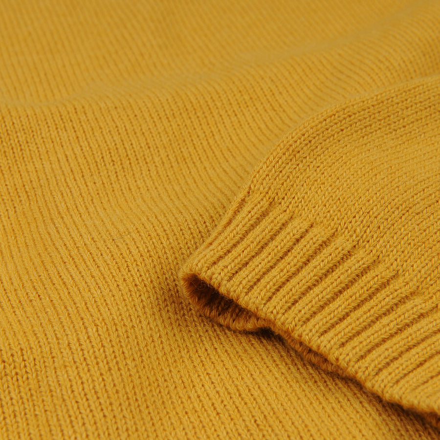 Relaxed Crew Neck Pullover in Corn