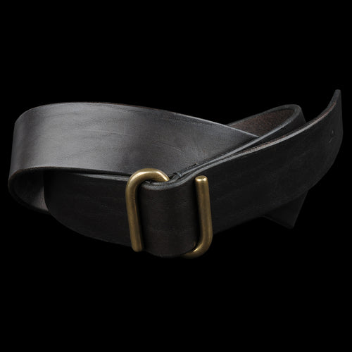 "1.5"" S Buckle Belt in Walnut"