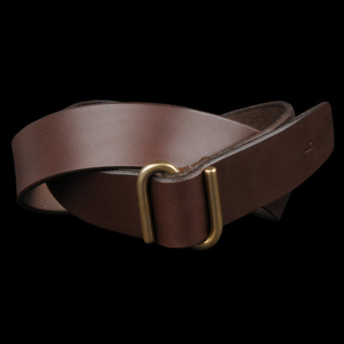 "1.5"" S Buckle Belt in Brown"
