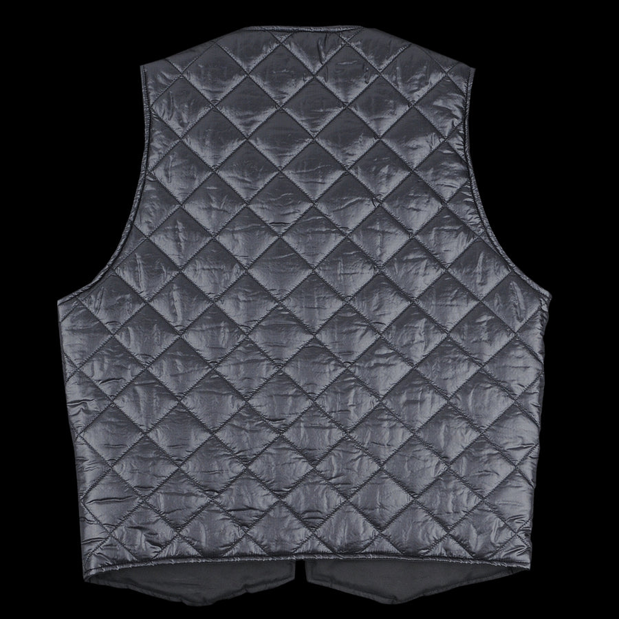 Quilted Cincho Vest in Zigzag Dotera Black