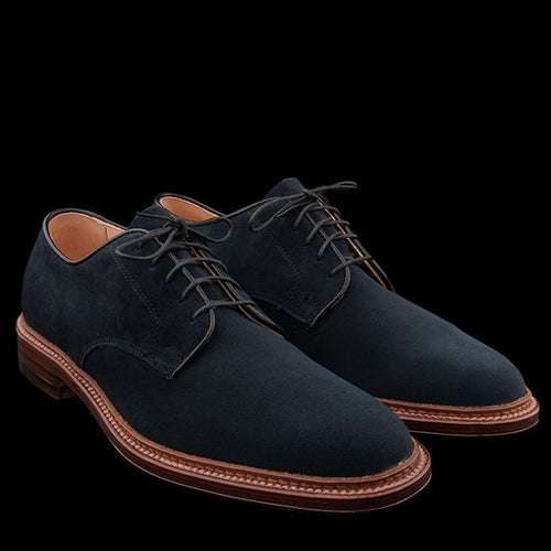 Unlined Suede Dover in Navy 29331F