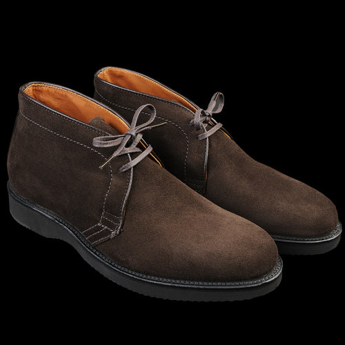 Quane Chukka Boot in Dark Chocolate Suede D8706