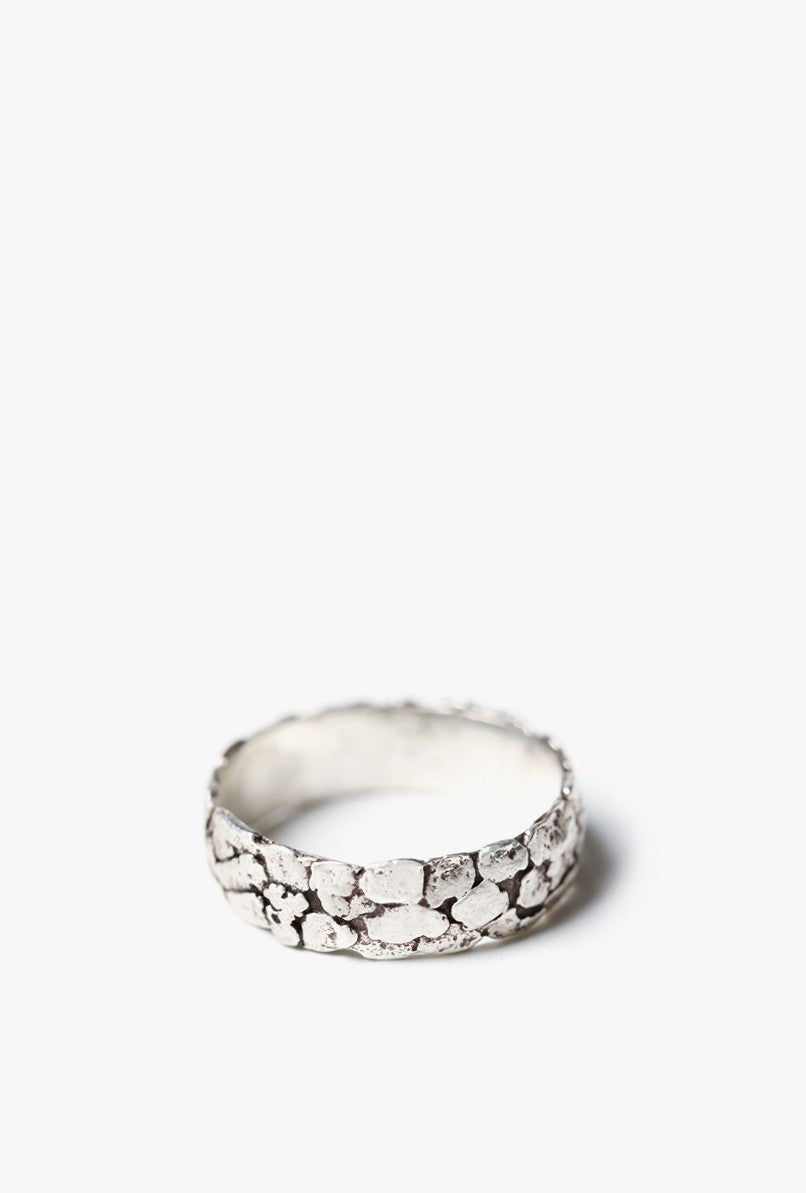 Thinner Nugget Band Ring