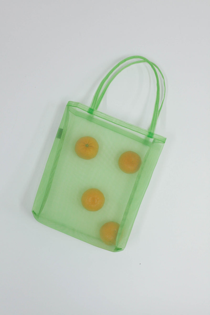 Open Tote - Green