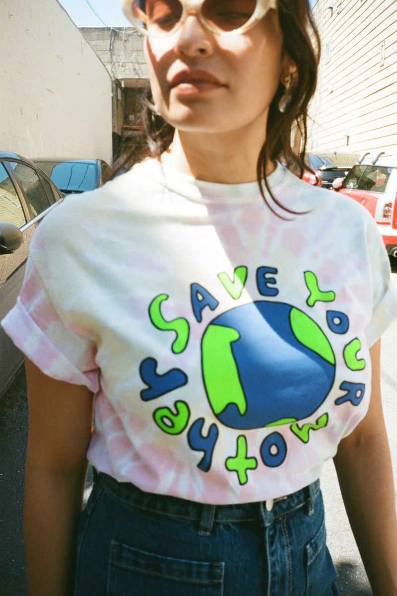Save Your Mother Earth T-Shirt - Tie Die
