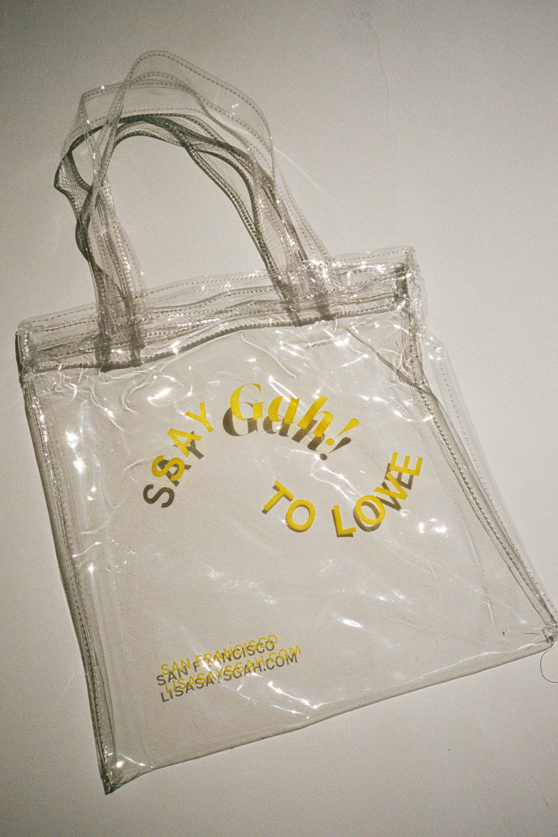 Pride Mini Vinyl Tote - Yellow
