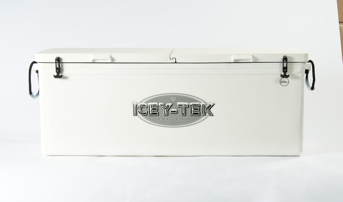 270 Quart - Split Lid - Icey-Tek Cooler / Ice Chest