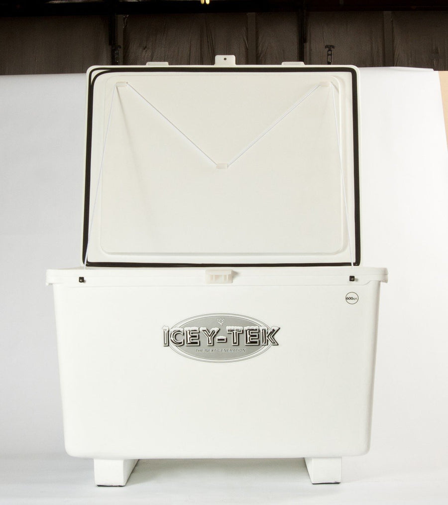 600 Quart - Icey-Tek Cooler / Ice Chest (Cube Style Without Runners)