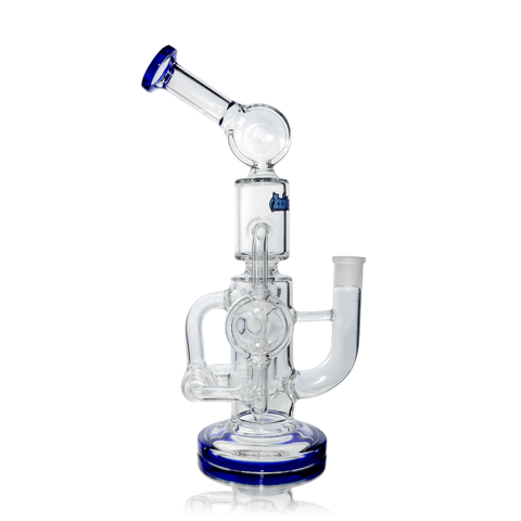 Glass Bubbler Hitman - Double Percolator